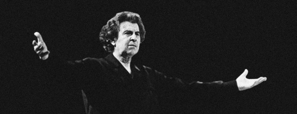Composer Mikis Theodorakis